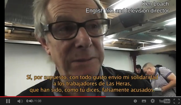 Ken Loach - Solidarity with the Oil Workers in Las Heras