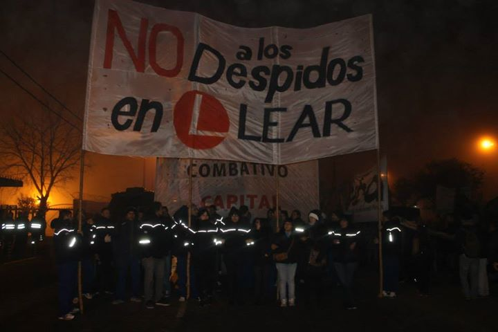 PETITION in solidarity with Lear argentinean workers